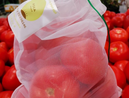 Environmentally produce bag for grocery